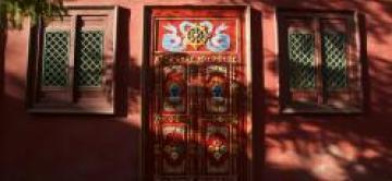 Mongolian Traditional Door